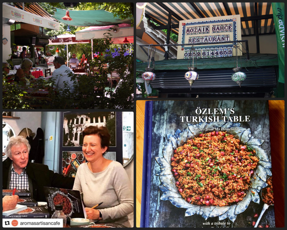 Özlem's Turkish Table: Recipes from My Homeland – special supper book signing event at Mozaik Bahçe