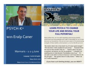 PSYCH-K Workshop with Eralp Caner @ Grand Yazıcı Club Marmaris Palace
