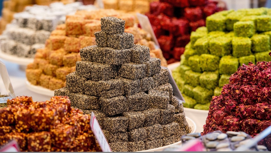 Turkish Delight comes in many exotic flavours