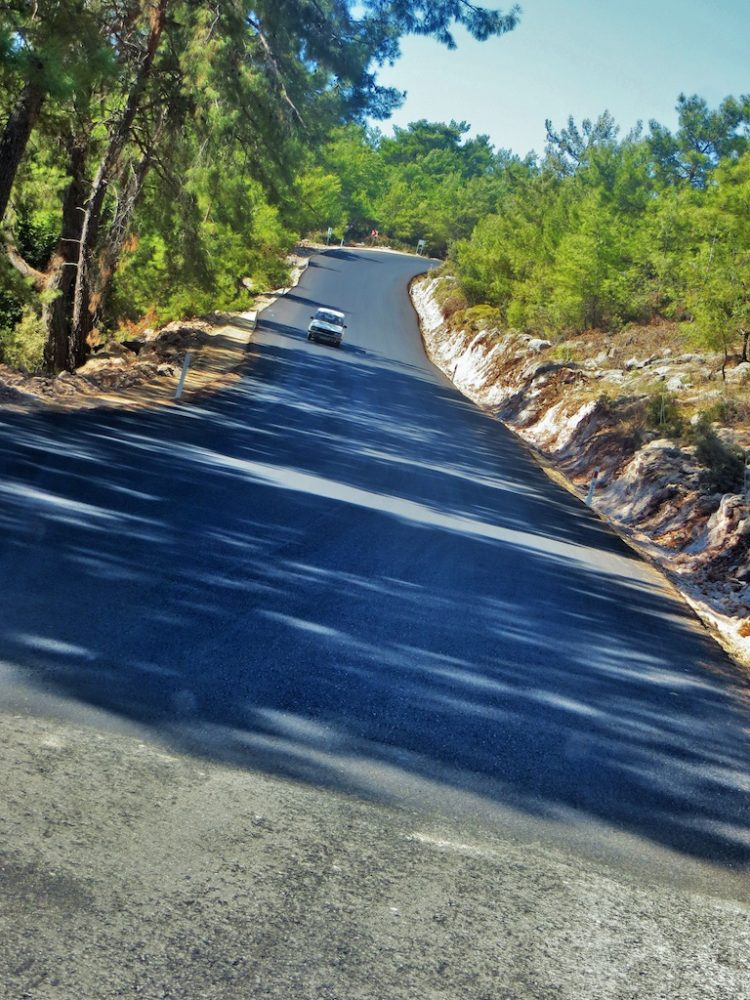 Kayaköy ready for winter as improvements on Fethiye road are complete