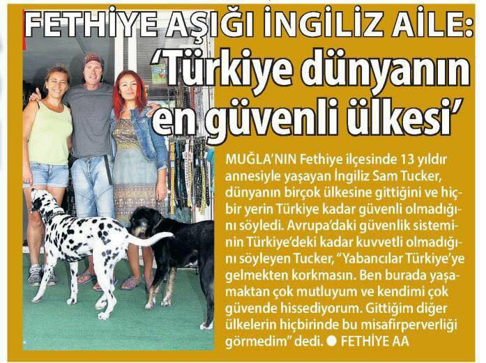 Fethiye Times News – Week Ending 28 October 2017