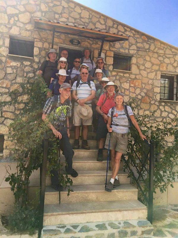 The Winchester Ramblers on walking with the Yakamoz Hotel