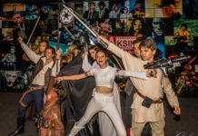 East meets West - a Star Wars celebration