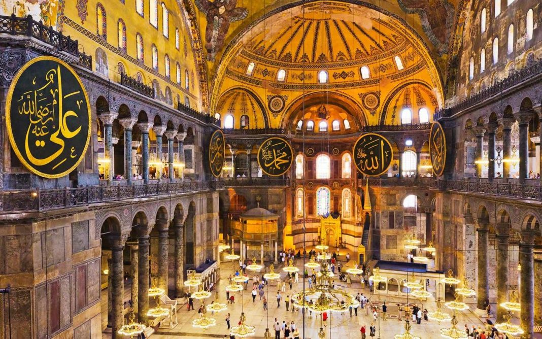 Focus on Istanbul: secrets of the Hagia Sophia
