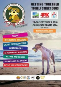 Dog Fest Turkey 2018- Getting together to help street dogs @ Çalış Beach Sports Area