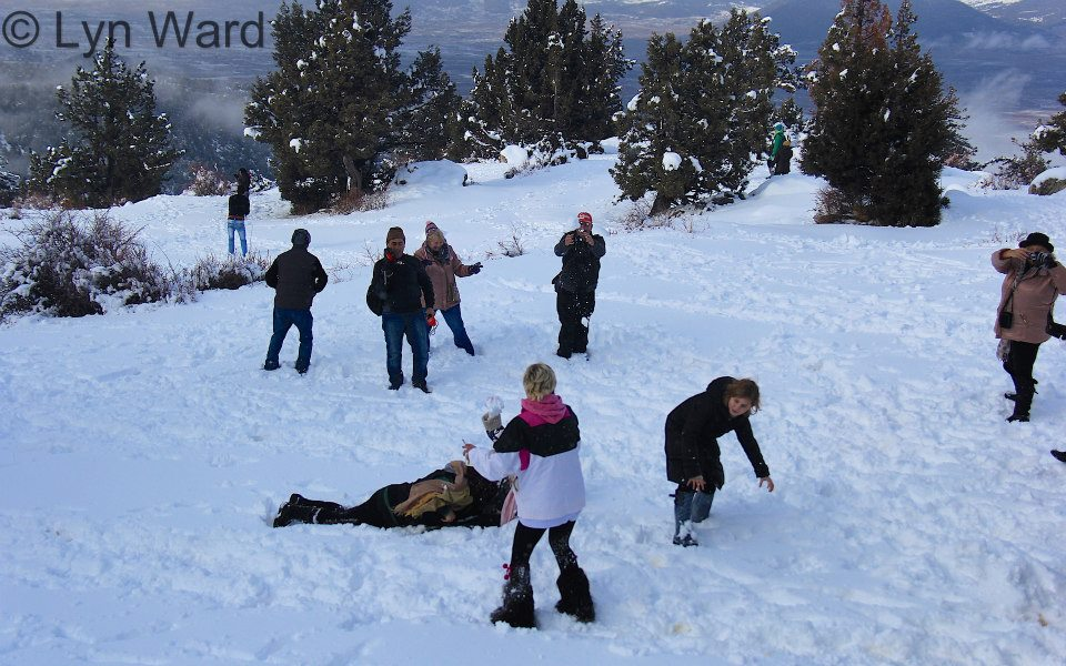 Fun in the snow at Erendağ