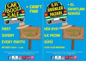 Kayaköy Car Boot Sale and Craft Fair @ Kayaköy