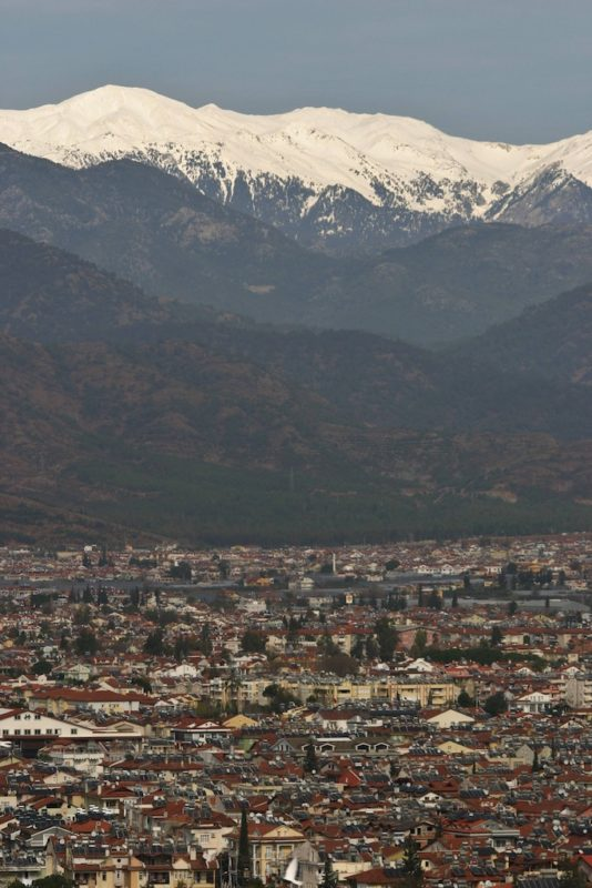 In photos - Fethiye's incredible winter landscapes