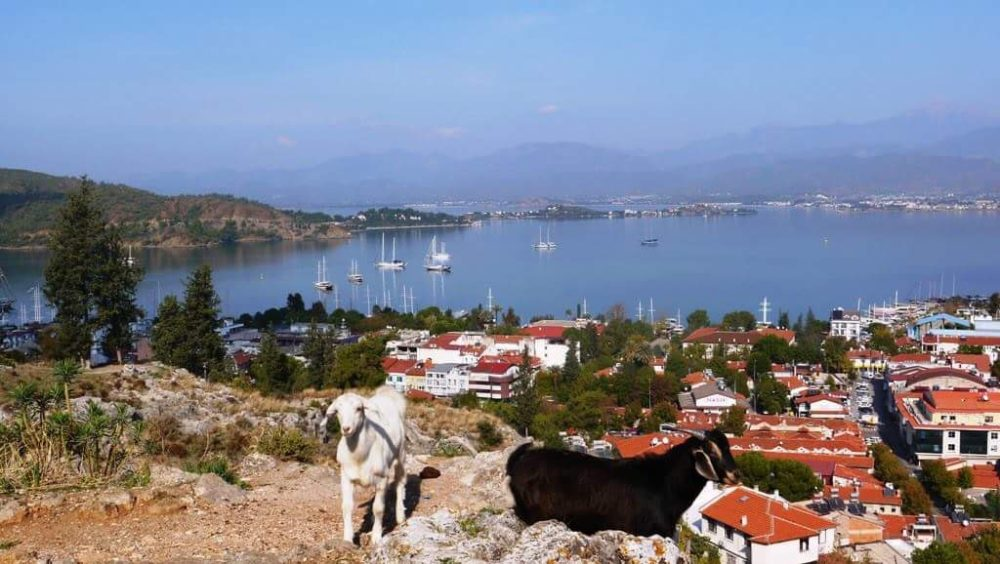 Fabulous views from Fethiye's Fortress