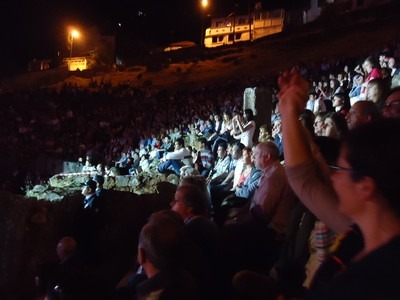 The antique theatre in Fethiye 5th Fethiye Culture & Arts Festival