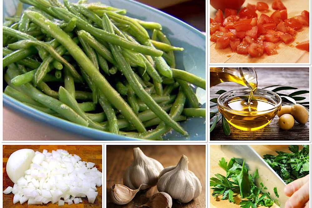 Recipe Box - Vegetables and Pulses - Green Beans in Oil (Fasulye Zeytinyağli)
