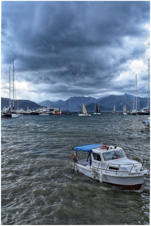 Photo Gallery - a stormy day in Fethiye