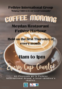 Fethiye International Group (FIG) - coffee morning @ Meydan Restaurant, Fethiye | Muğla | Turkey