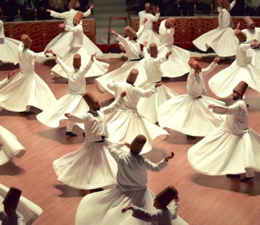 See the Mevlana at the Rumi festival in Konya