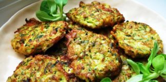 Zucchini (Courgette) Fritters with Feray and Dill - Kavak Mucveri