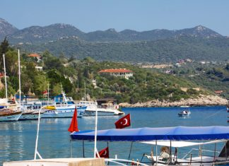 Magical Kaş – where lush mountains meet the Turkish Mediterranean