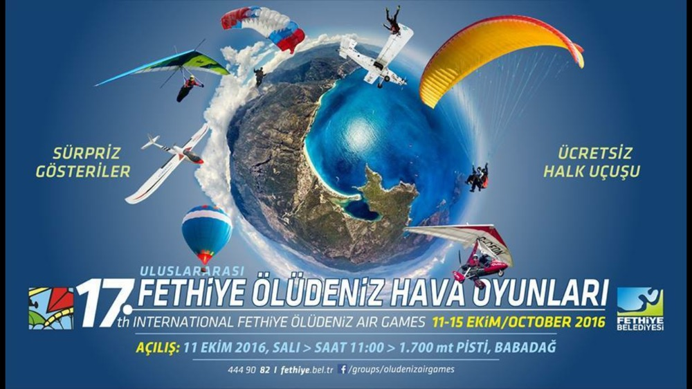 Oludeniz air games 2016