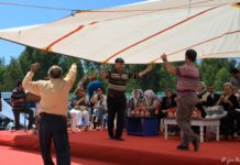 Folk dancing - part of the tradition of a particular people or area