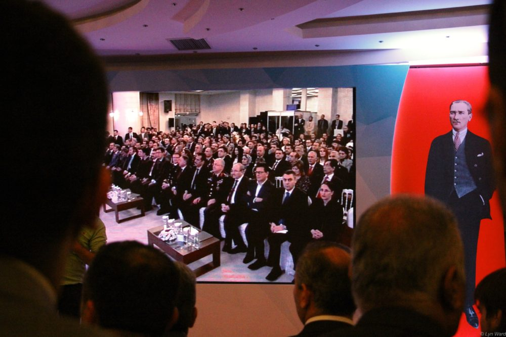 The meeting was attended by officials from all over Turkey