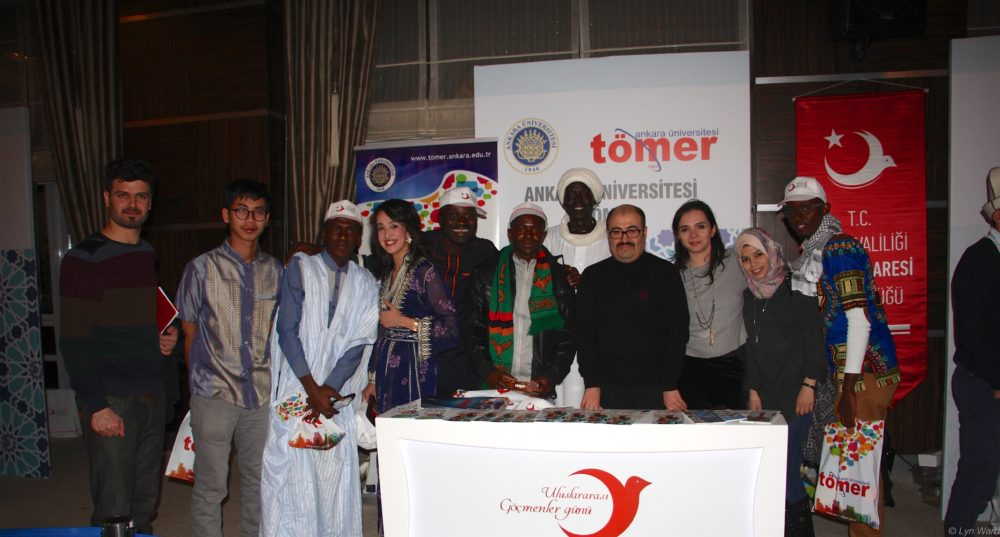 Tömer, the language school from Ankara University