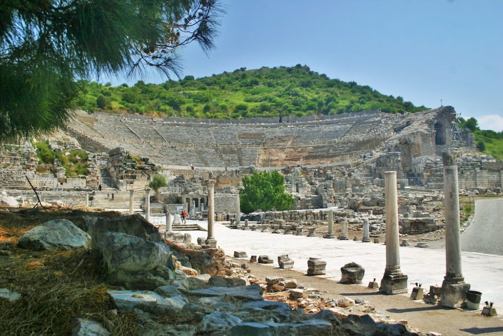 Ephesus - the most complete ancient city in the eastern Mediterranean