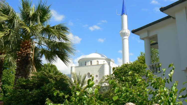 The central mosque in Fethiye