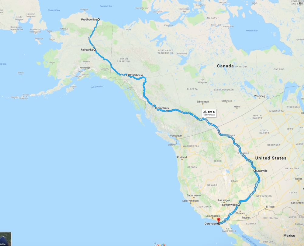 Alaska to Argentina – from British Columbia to San Diego