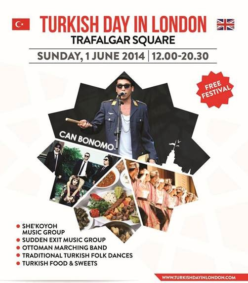Trafalgar Square To Host The First Ever Turkish Day