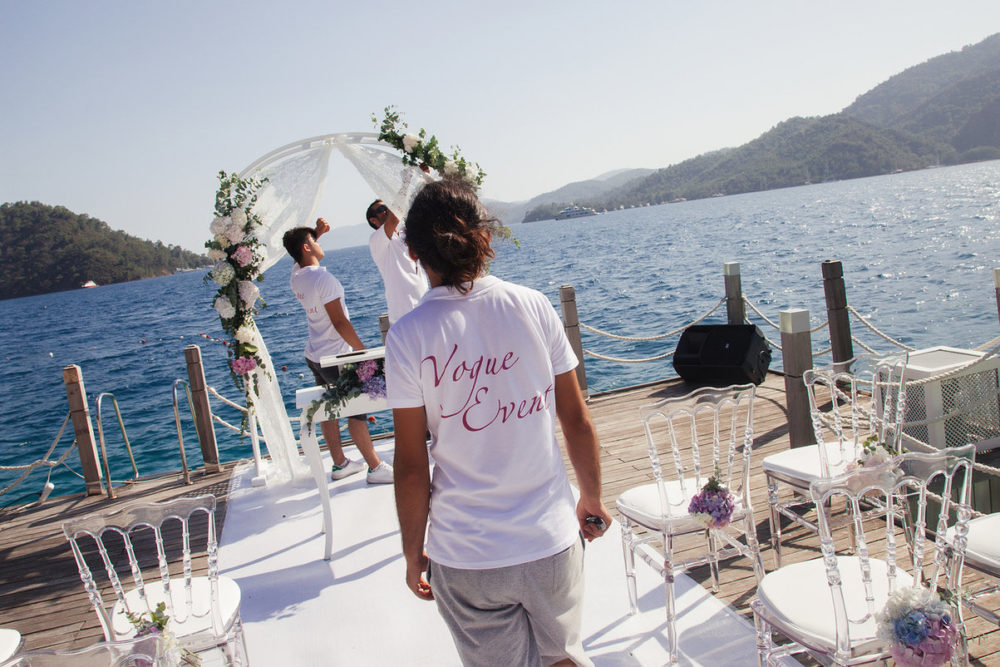 Vogue Event – destination wedding planning and styling in Fethiye, Turkey.
