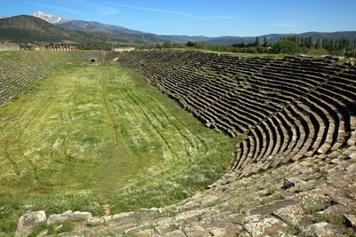 Aphrodisias, the stadium is huge