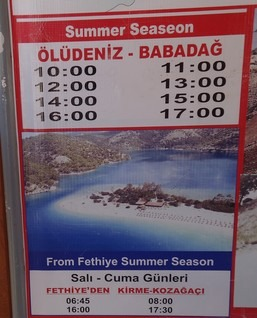 There are some fantastic things to when on holiday in and around Oludeniz