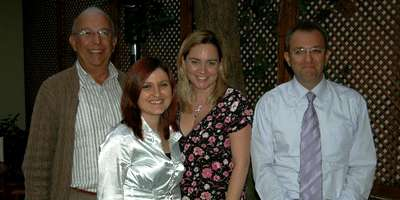 The team at the British Consulate Fethiye and Nicole Sauvage Utku Vice Consul Istanbul