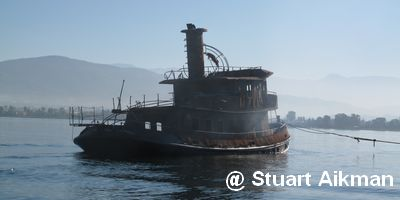 Luxury yacht Marinel-1, registered in Istanbul, caught fire on Thursday some 15 miles out to sea off Dalaman, Mugla, Turkey on 30 September 2010.