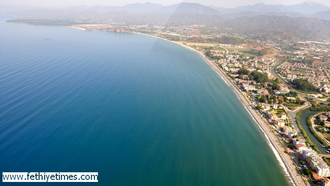 Calis Beach Fethiye - Home to Tourism and Turtle nests