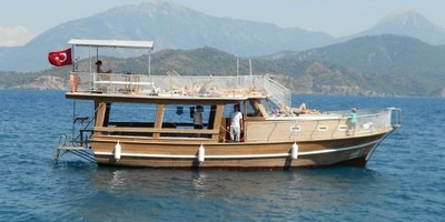 A boat trip is just one of a number of great things to do on holiday in Fethiye