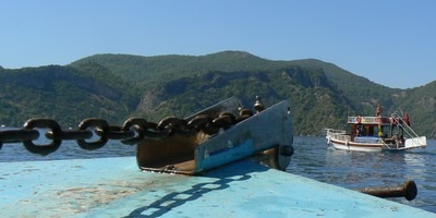 Great things to do on holiday in Fethiye includes a day out on one of the Calis Boats