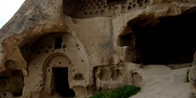 There are many cave monasteries in the region of Cappadocia. We visited the one at Selime which is at the northern end of the Ihlara Valley.