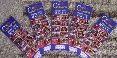 The Çalış Carnival Charity 2011 calendars are now on sale and can be bought at a wide range of outlets in and around Fethiye