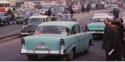 In 1965 Istanbul was teeming with old American cars.