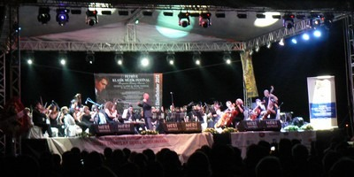 Anatolian Philharmonic Orchestra at the Fethiye Classical Music Festival 4th October 2012