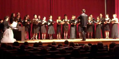 The Antalya State Choir, Fethiye, February 2011