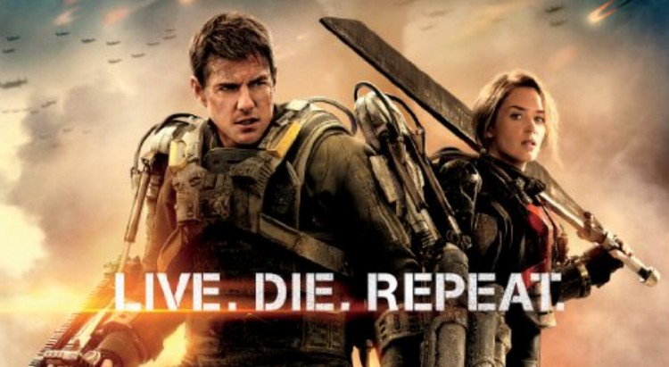 Edge of Tomorrow screen at the Hyall Cinema this week