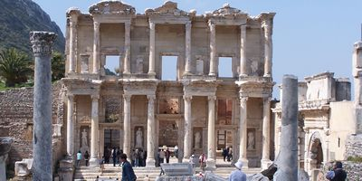 The temple at Ephesus