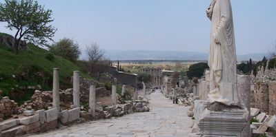 Ephesus - The path down to the library