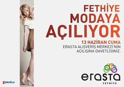 Fethiye's new shopping centre will open on 13th June 2014
