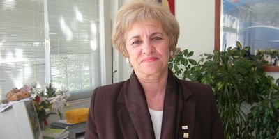 Dilek Dincer General Manager of the FETAV charity, Fethiye MUGLA
