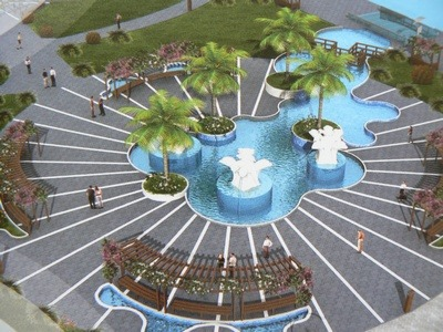 Fethiye is undergoing some impressive renovations to public areas including the prestige town centre project
