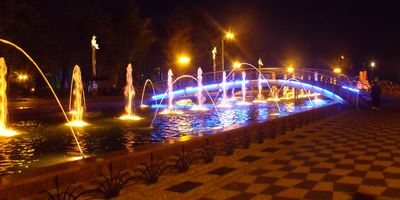 Fountain in Batumi, Georgia www.fethiyetimes.com