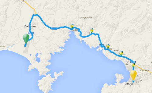 Getting from Dalaman Airport to Your Turkish Holiday Destination