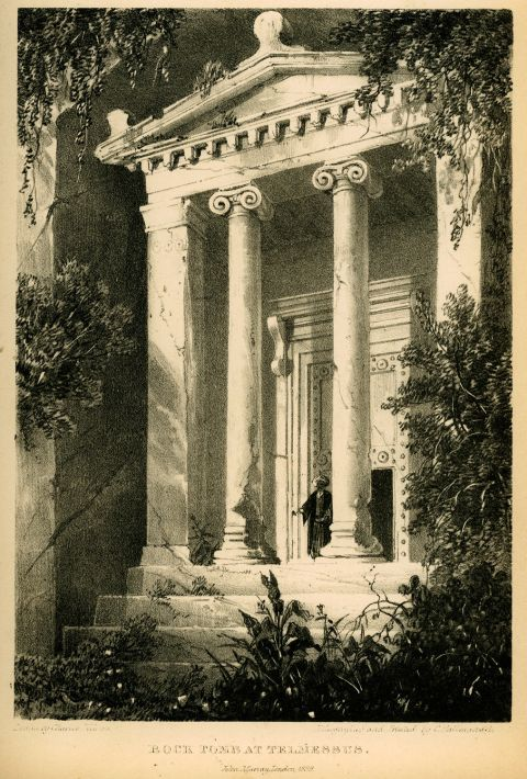 Tomb of Amyntas in 1822